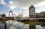 Rotterdam Witte Huis, water, boten, brug, foto Pixabay