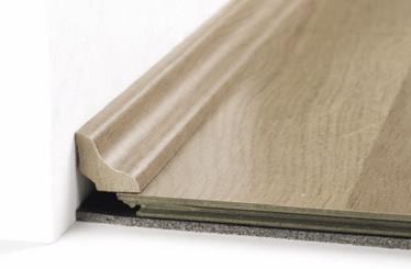 rodapé friso, derivado de madeira