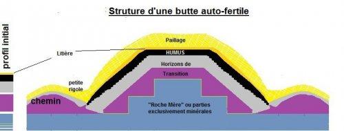 Cr er une butte perenne fertilit croissante humus sapiens for Rendement permaculture