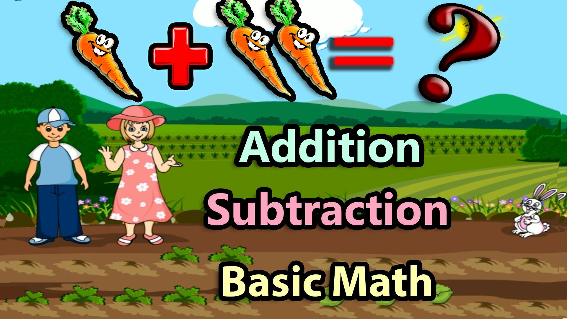 Basic Math For Kids Addition And Subtraction Science