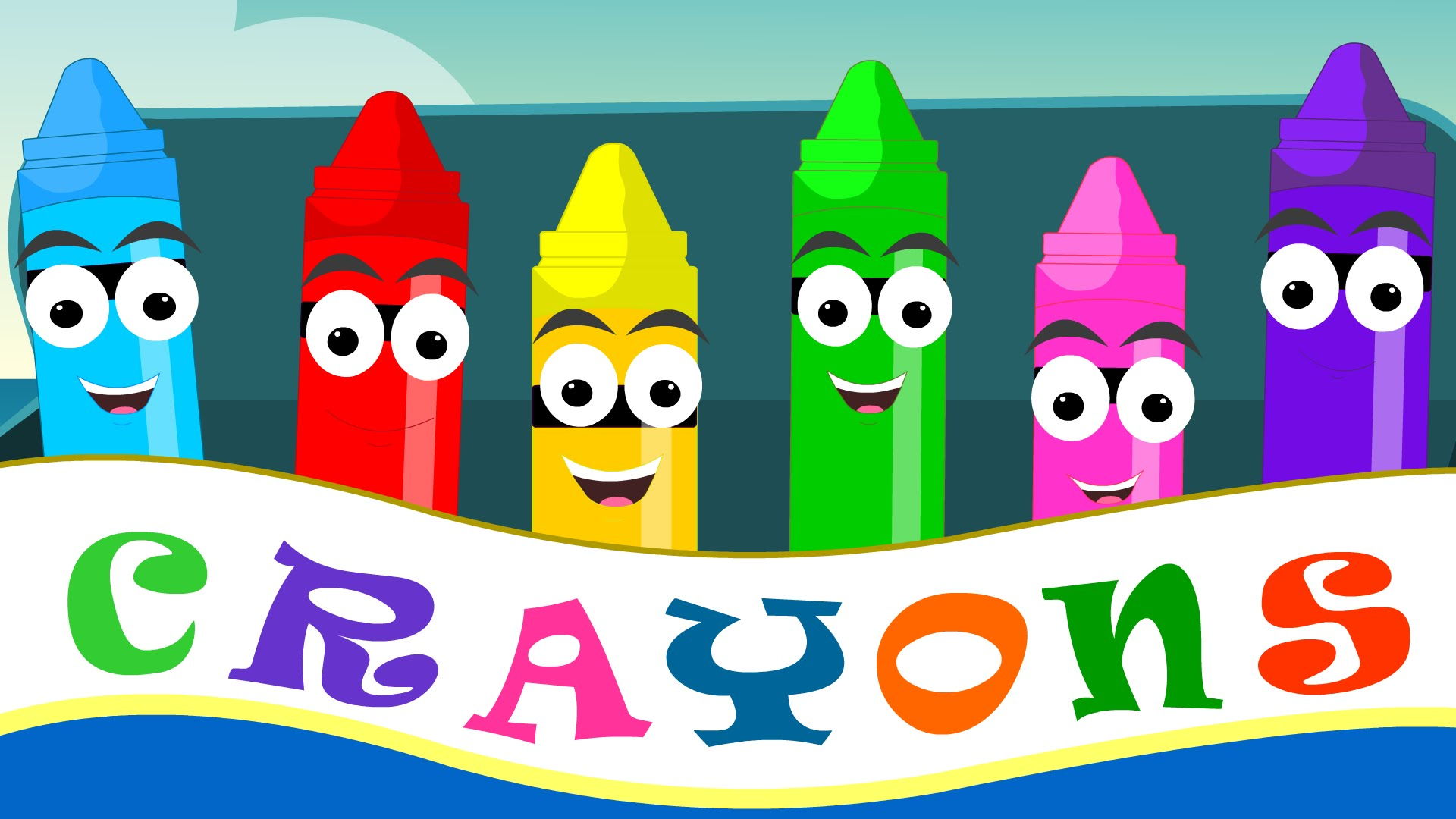 Crayons Nursery Rhymes