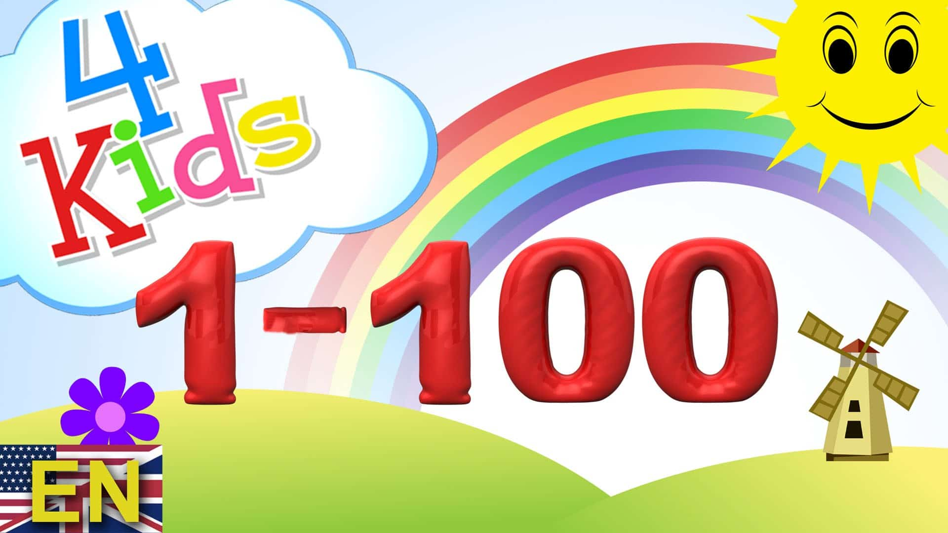 Numbers Counting 1 100 Learning Video For Children