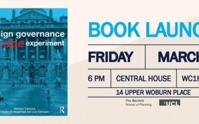 Design Governance, The CABE Experiment, book launch