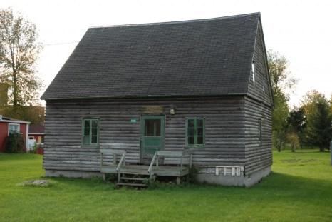 Maison des Lévesque, à St-Blaise-sur-Richelieu, où Mme Feller a habité (au grenier) et enseigné des enfants à partir de 1836.