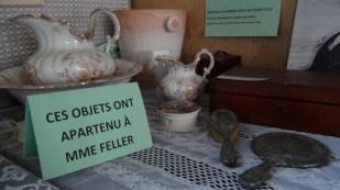 Ces objets ont apartenu à Mme Feller