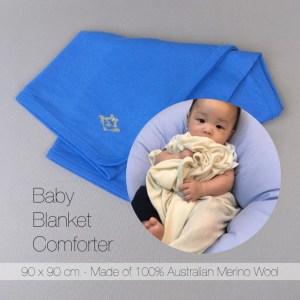 Swaddle Comforter (cobalt blue)