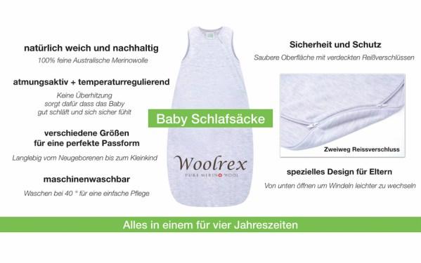 Richtig Babyschlafsäcke
