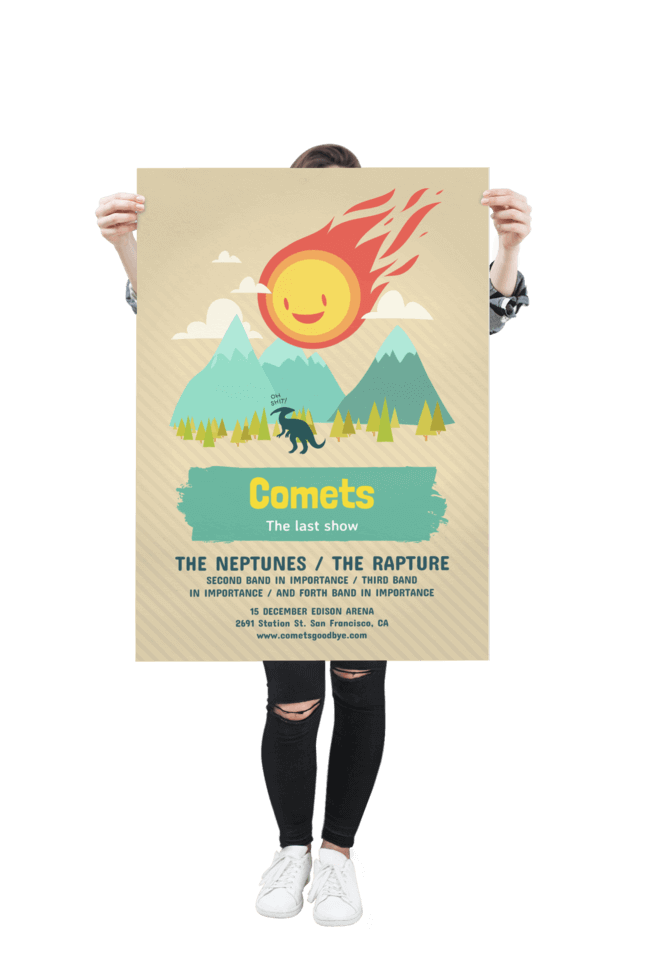 Create A Poster Design With This Poster Maker Placeit