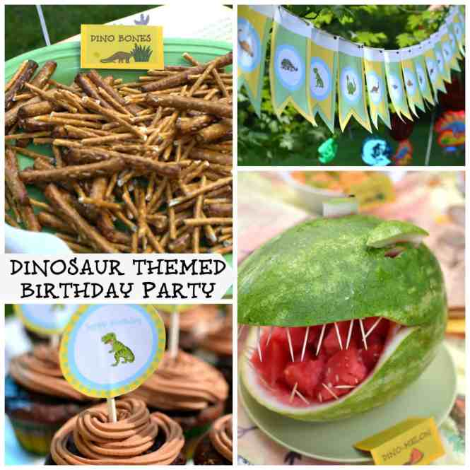 Dinosaur Theme Birthday Party At Play Maze