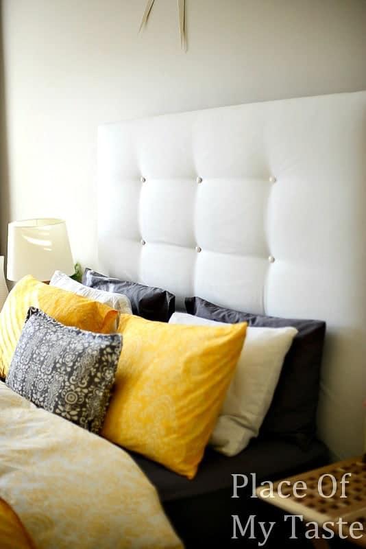 IKEA HACKS A DIY Upholstered Malm Headboard