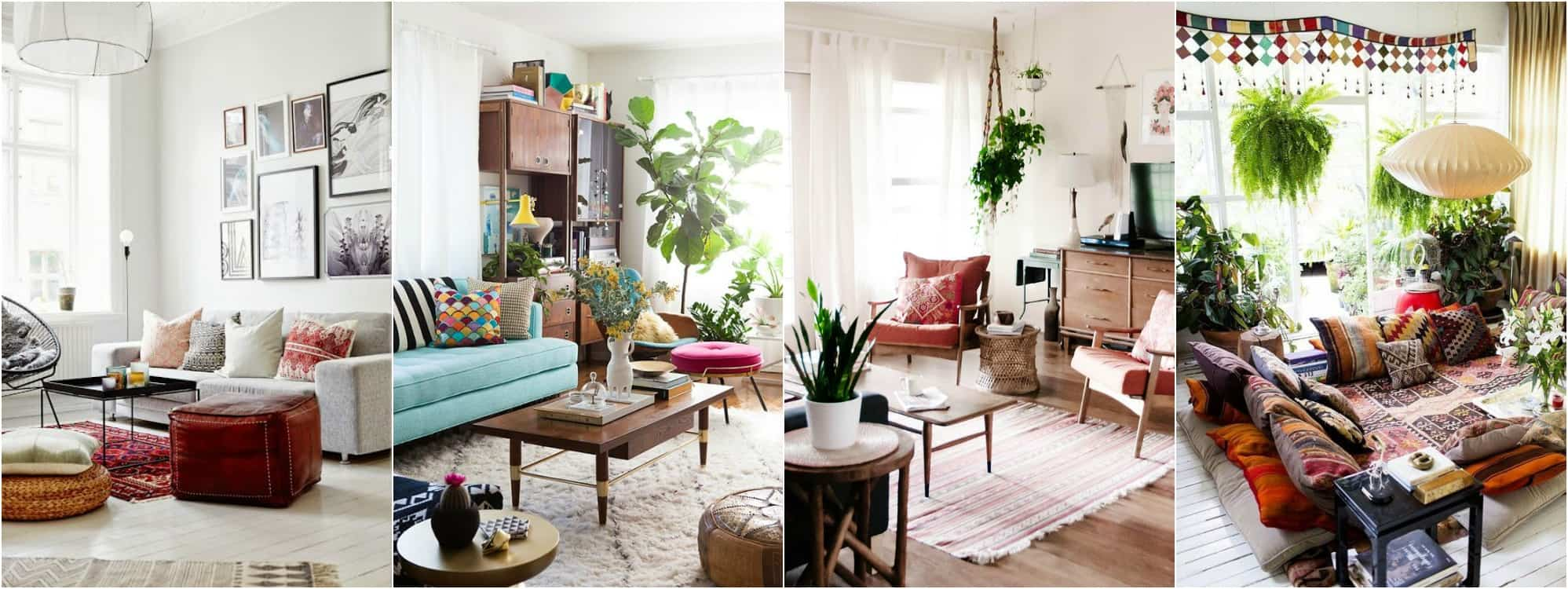 Boho Chic Living Room Plans One Room Challenge Place