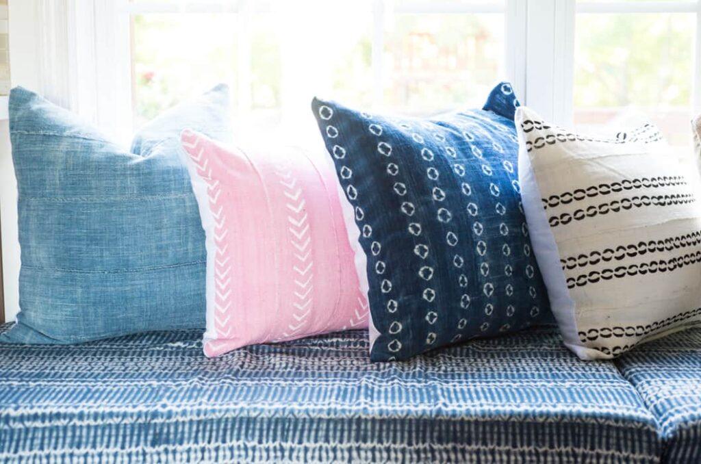 easy diy zippered pillow cover tutorial
