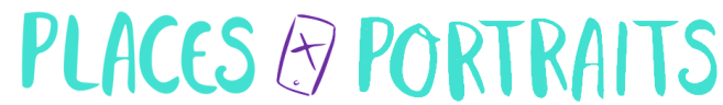 Places and Portraits Logo