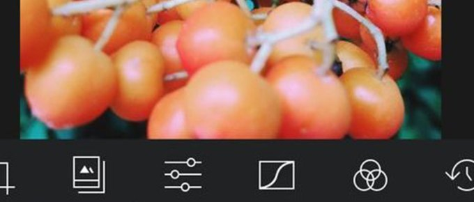 Screenshot Darkroom iPhone app