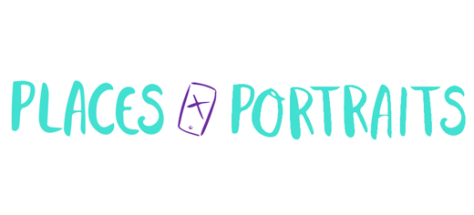 Logo places and portraits