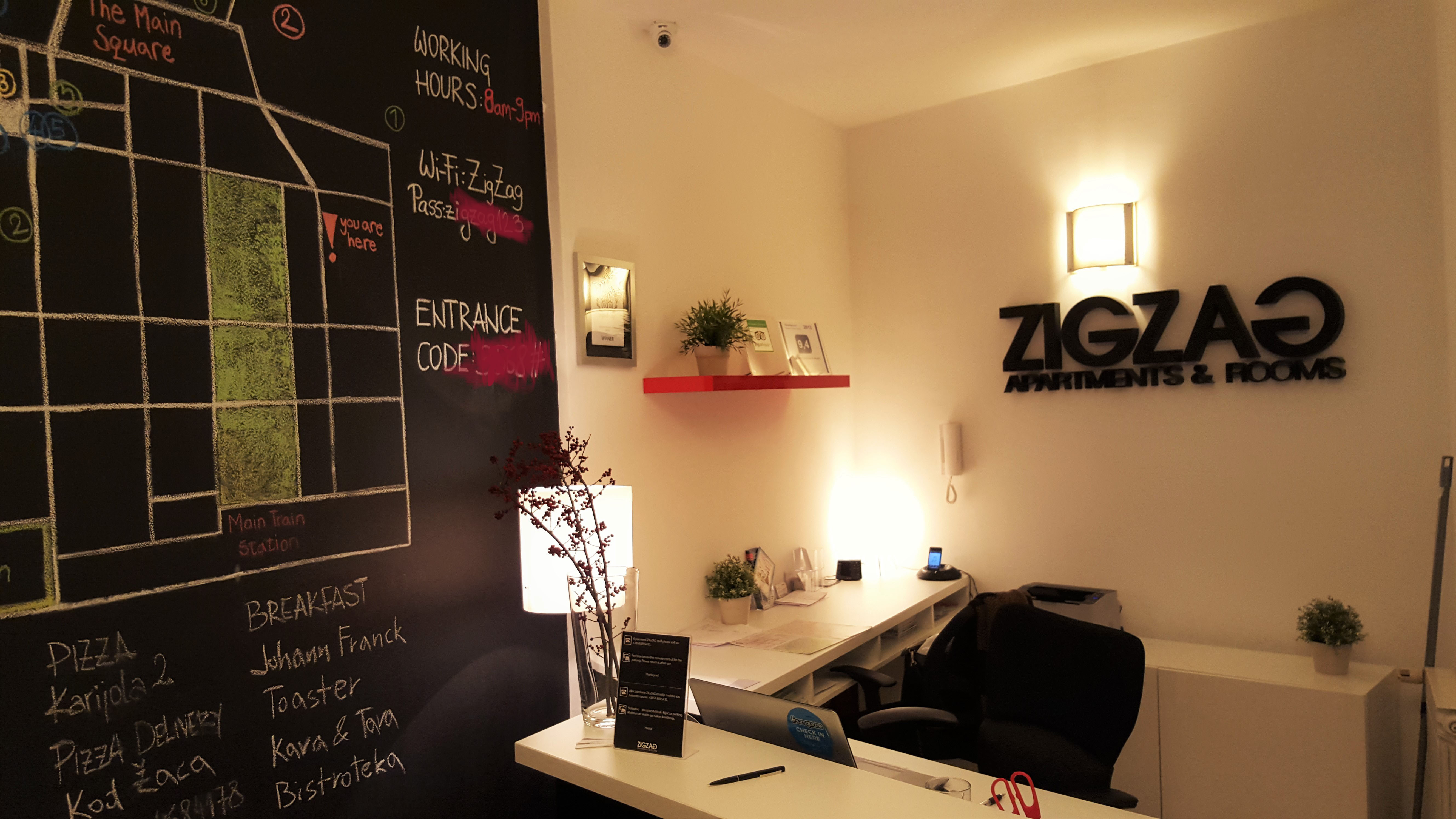 ZigZag Integrated Hotel Reception by placescases.com
