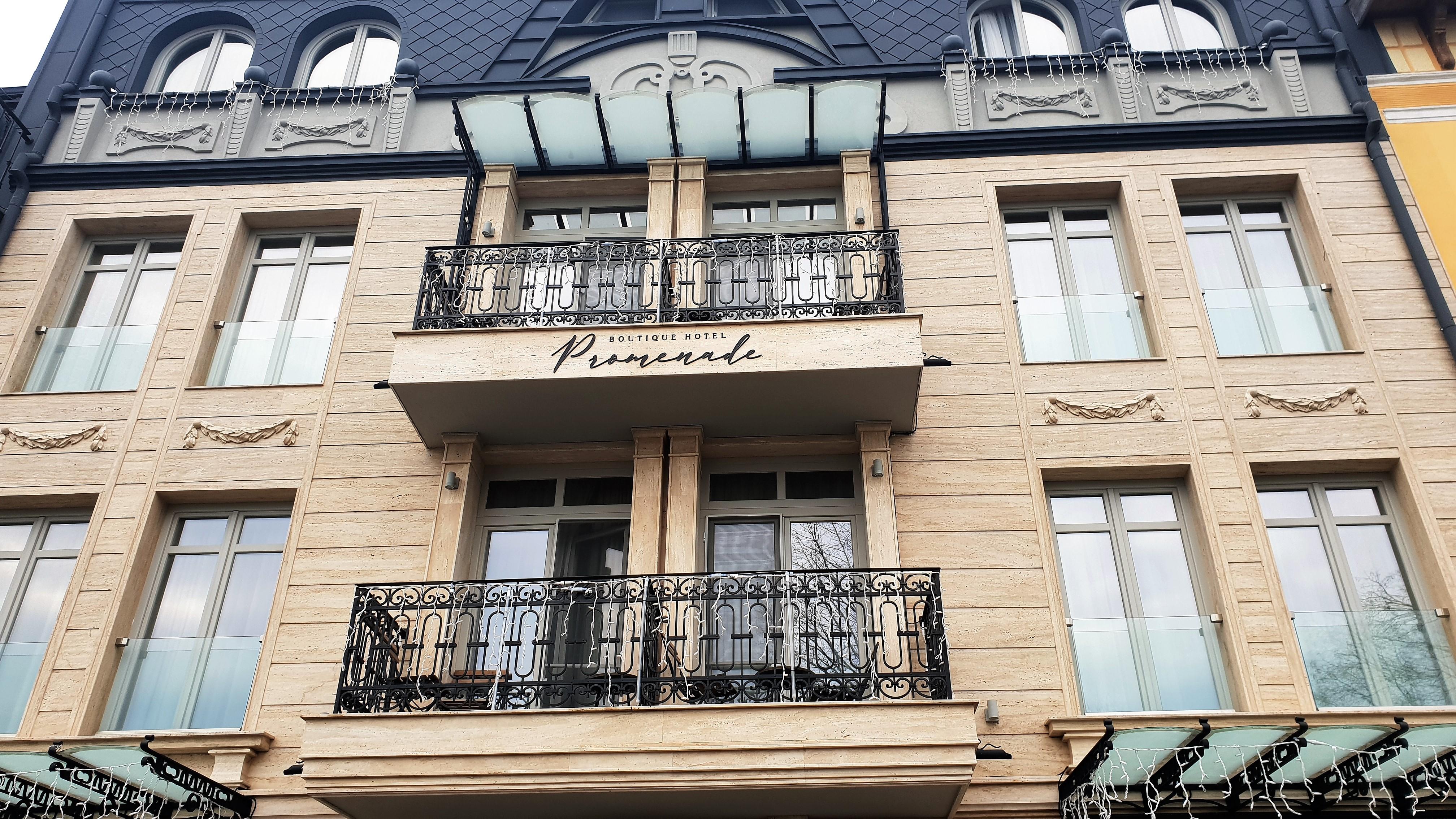 Hotel Promenade, Burgas, placescases.com