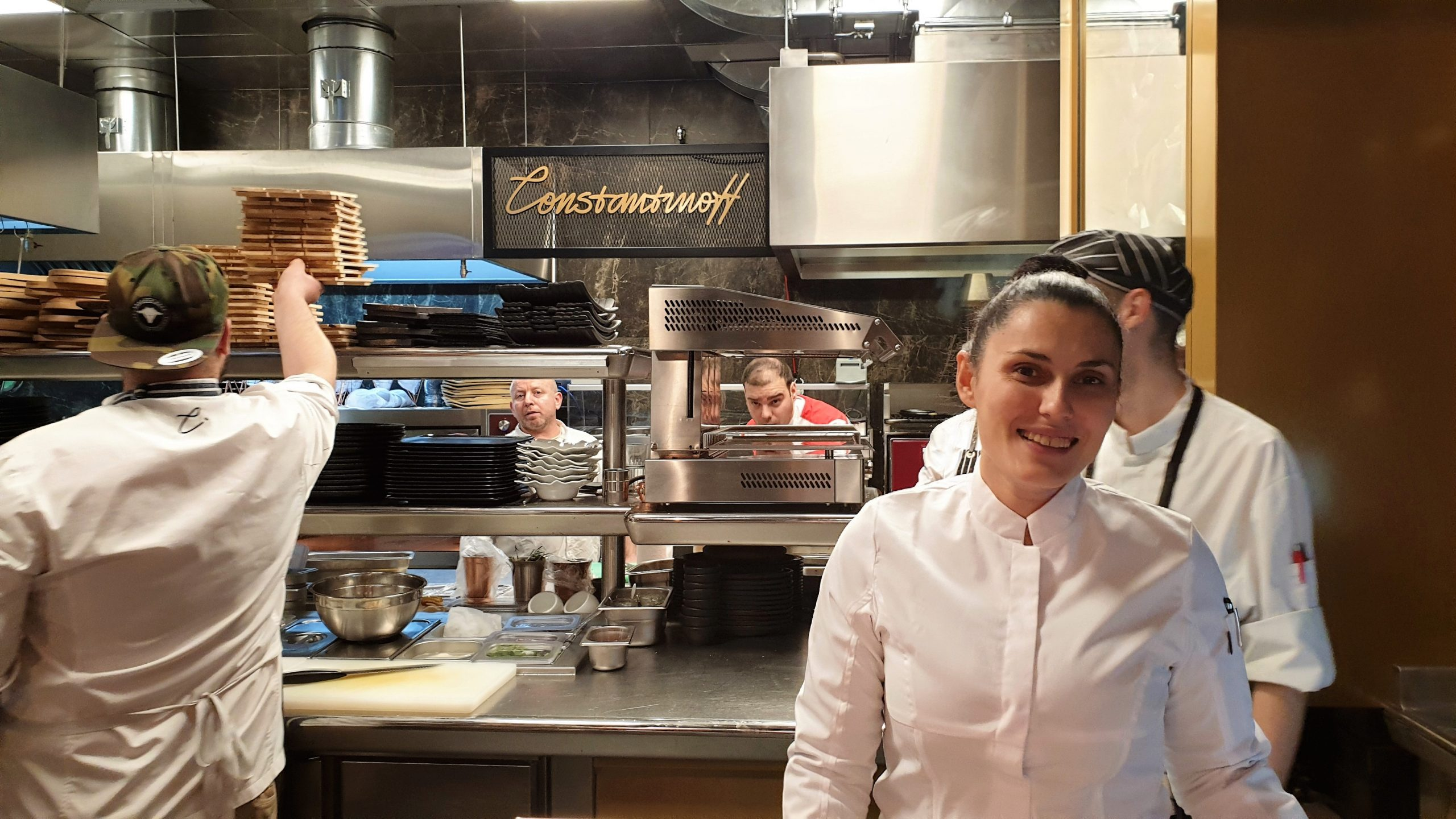 Chef Sidonia Radeva from Constantinoff RestoBar, the first face in Faces Cases rubric– Part 2
