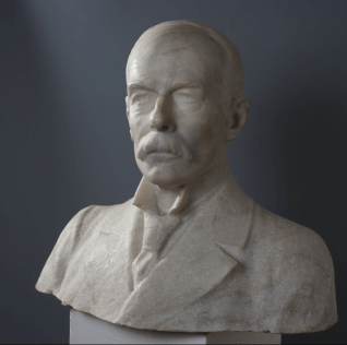 Portrait of James Bourchier by Marin Vasilev1923, Museums @home- Sofia and Bulgaria, by placescases.com