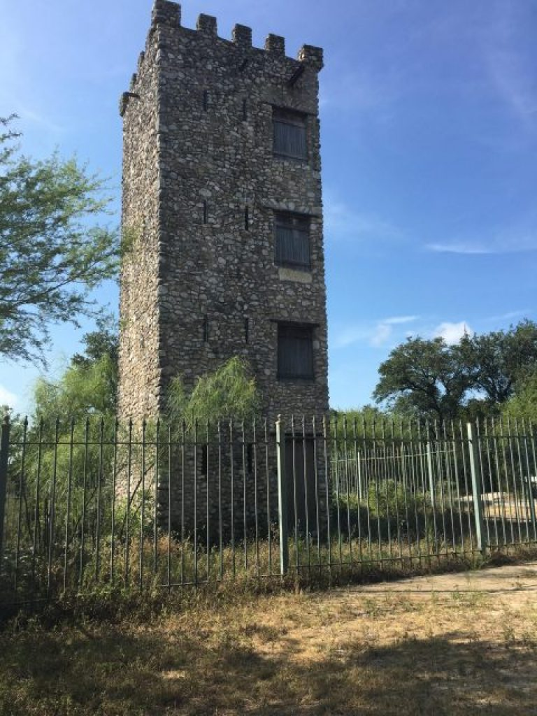 The four story tower at Comanche Lookout Park.