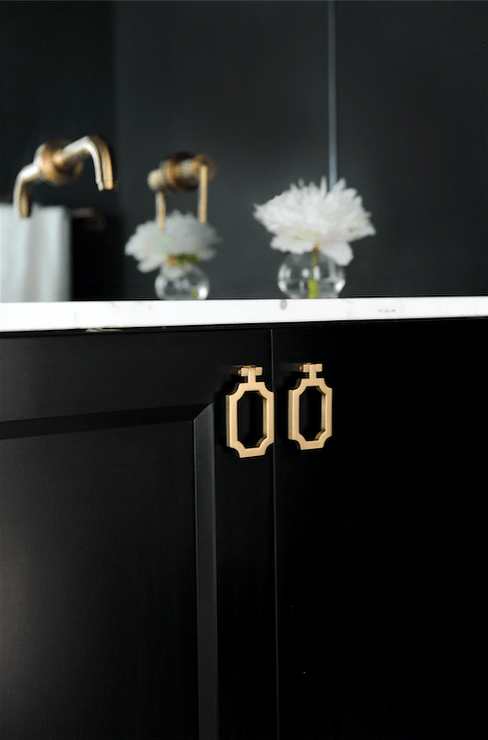 black-bath-vanity-cabinets-gold-ring-pulls