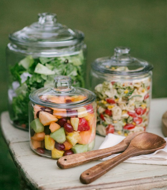 jar salad serving ideas