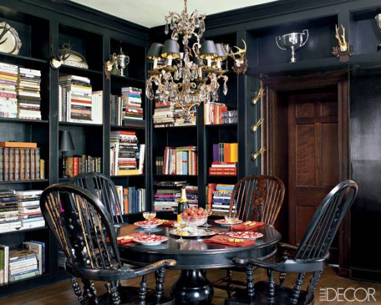decorating with black and orange