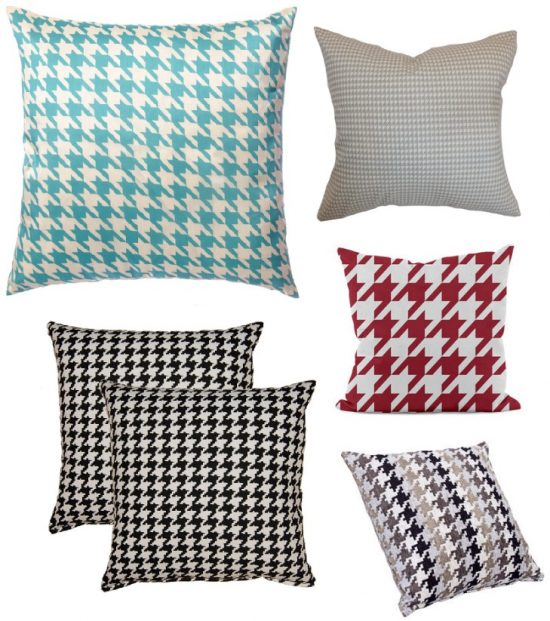 houndstooth-throw-pillows