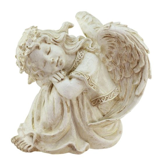 Resting+Cherub+Angel+Outdoor+Patio+Garden+Statue