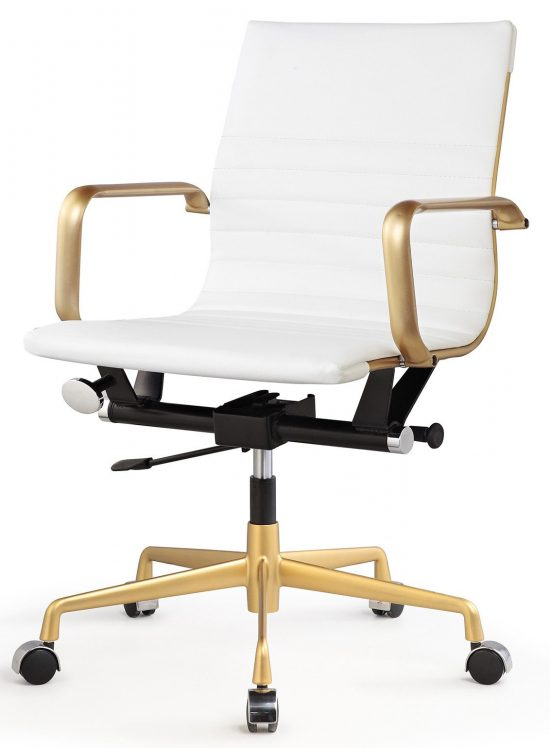 Vegan-Leather-Mid-Back-Office-Chair-with-Arms-348