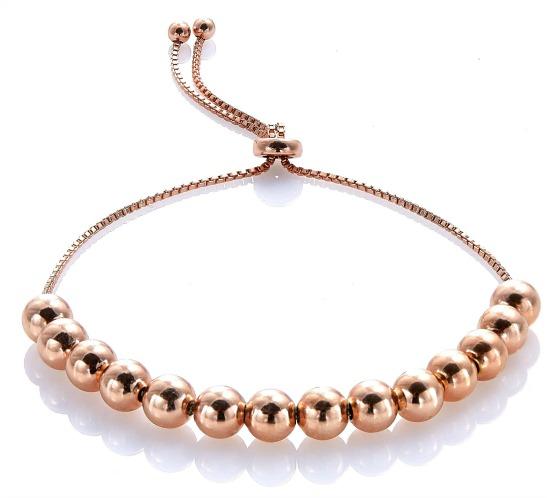 Mondevio-Sterling-Silver-Slider-Bead-Bracelet