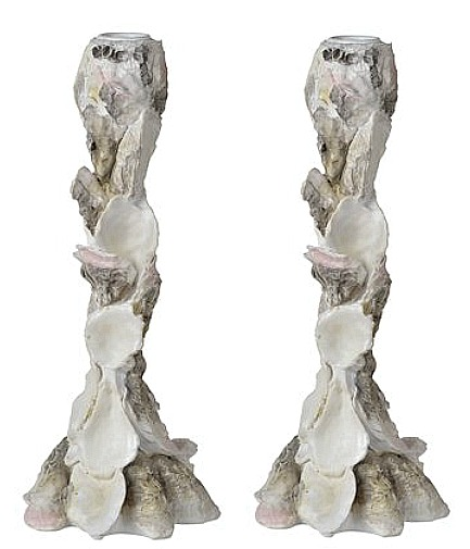 Oyster-candlestick