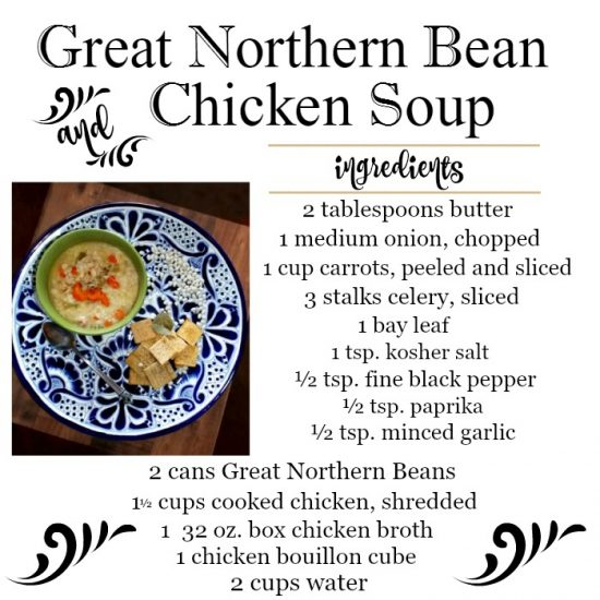 Great-northern-bean-and-chicken-soup