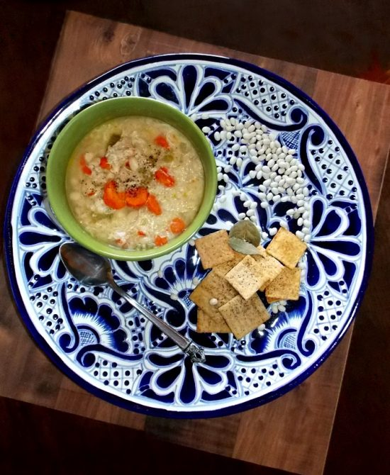 bean-and-chicken-soup