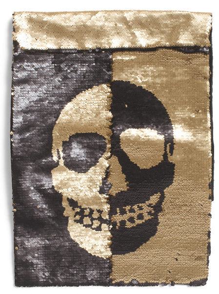 sequin-skull-table-runner