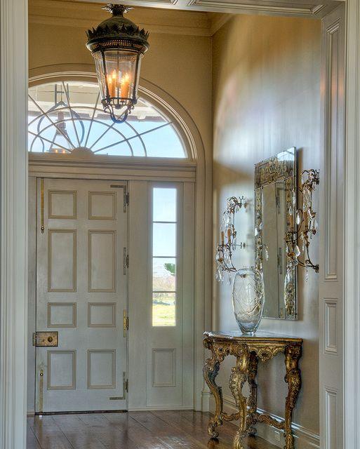 lantern-in-foyer