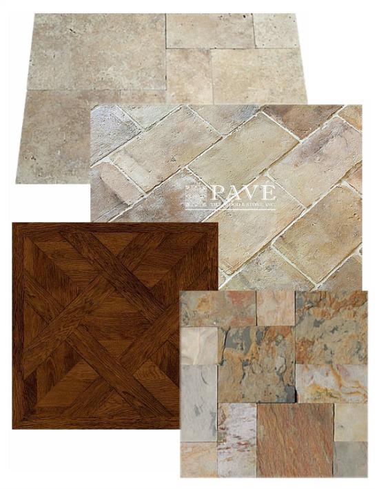 French inspired flooring