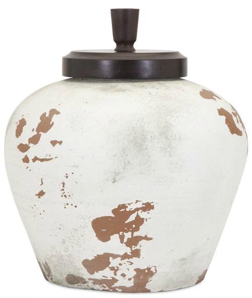 Terracotta+Decorative+Jar