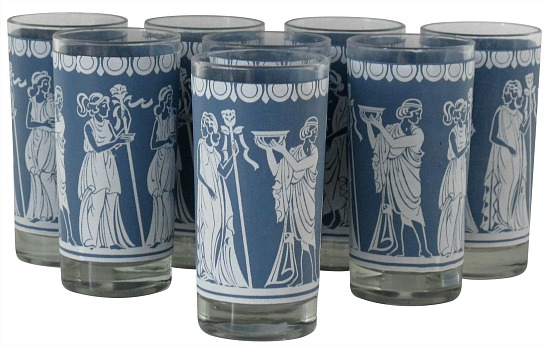highball-glasses-w-grecian-motifs