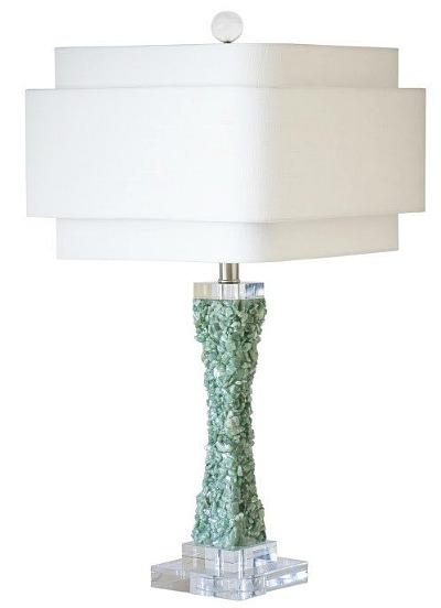 Cienega table lamp green