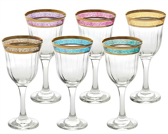 Melania 9 oz. Stemmed Wine Glass