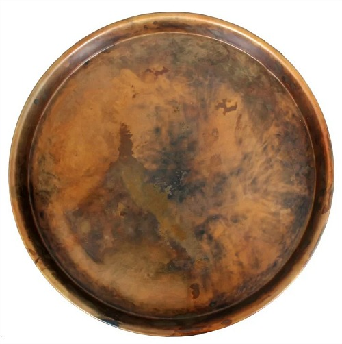 Prosper Iron Round Accent Tray