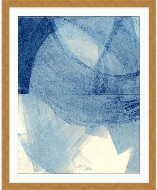 blue pane