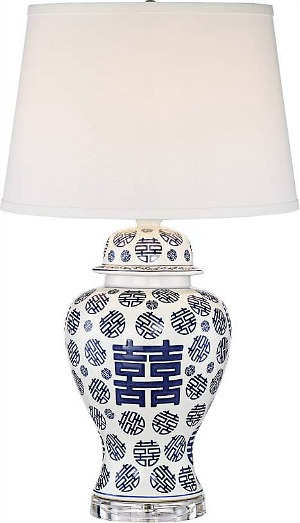 happiness-blue-white-table-lamp