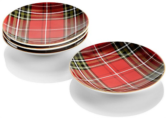 tartan-plaid-appetizer-plates