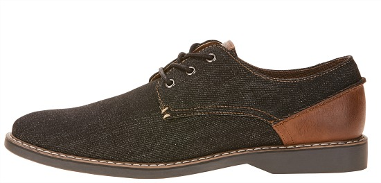 George Men's Denim Oxford Shoe