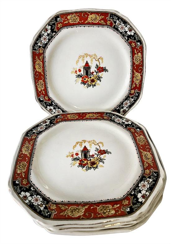 meakin-jamaica-octagonal-plates-set-of-6