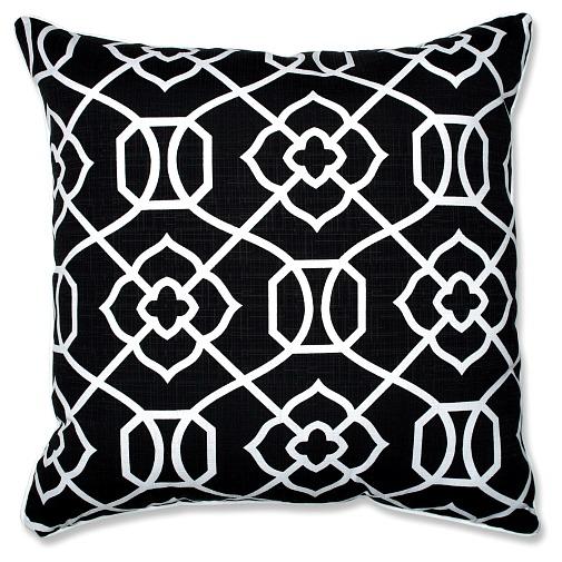 black-white-floor-pillow