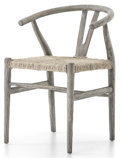 Muestera Weathered Grey Dining Chair