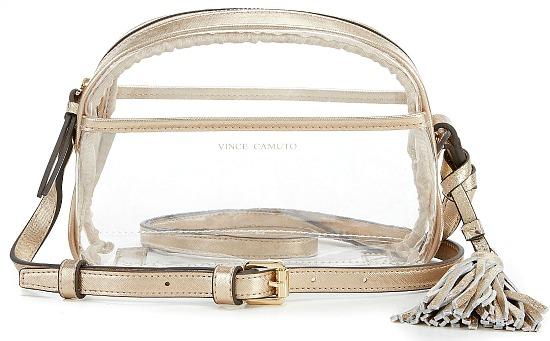 Vince Camuto Aryna Clear Cross-Body Bag